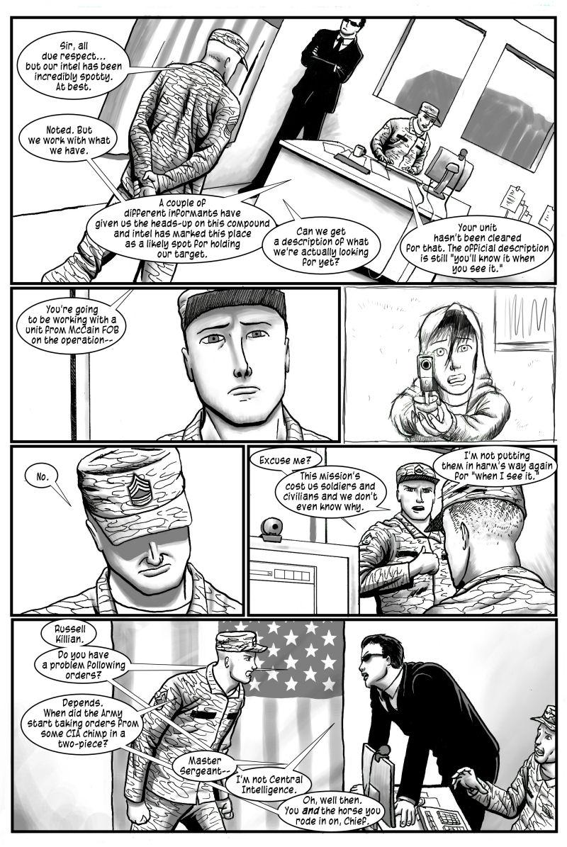 No Survivors, page 6