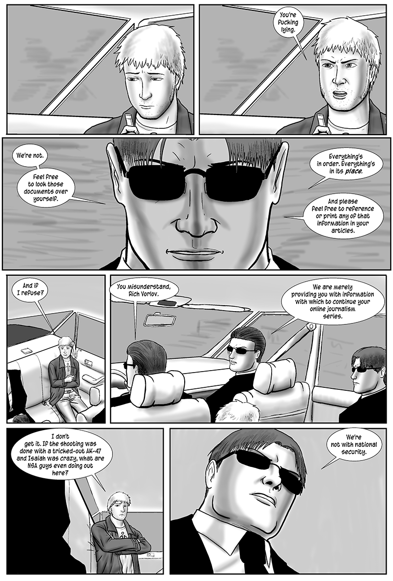 Drowning in the Wake, page 29