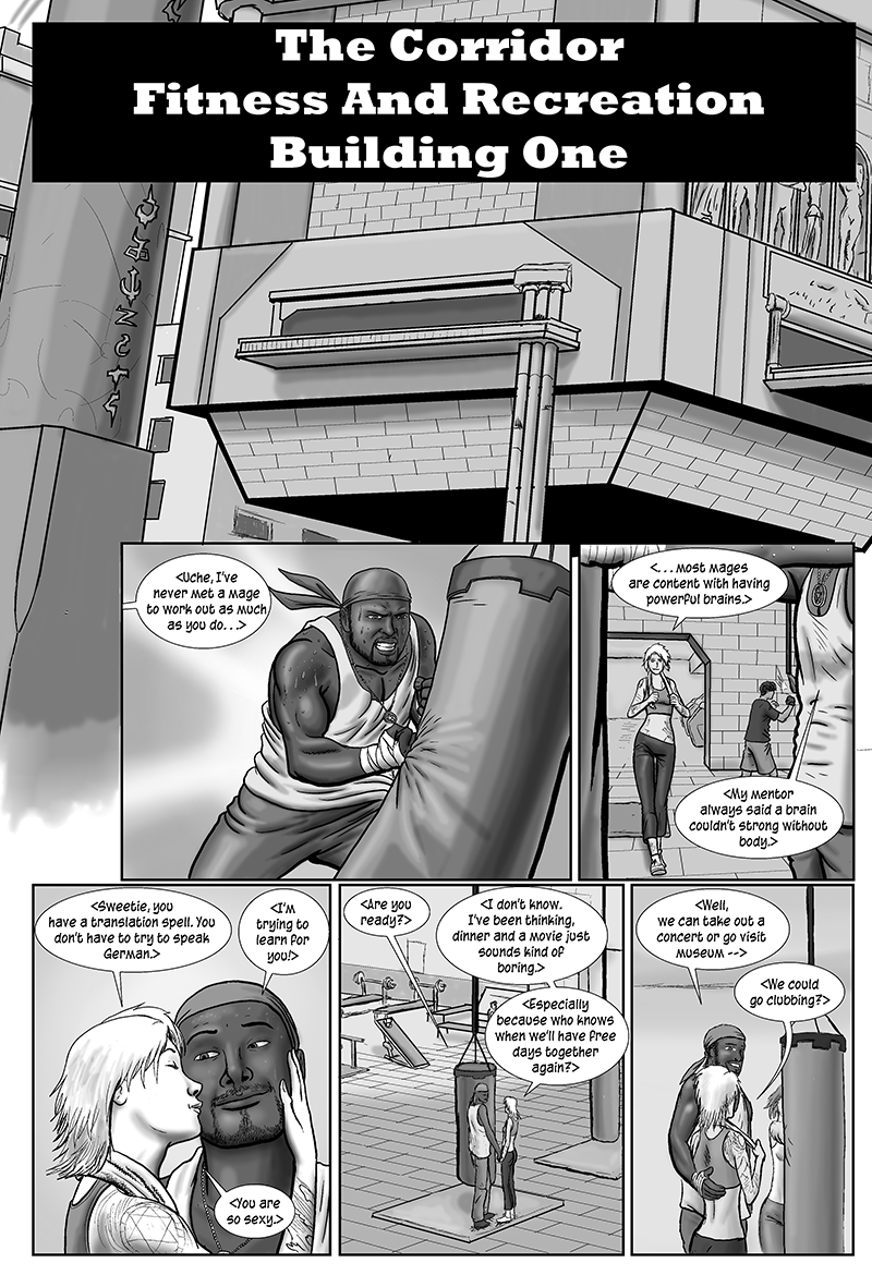 Personal Spaces, page 1