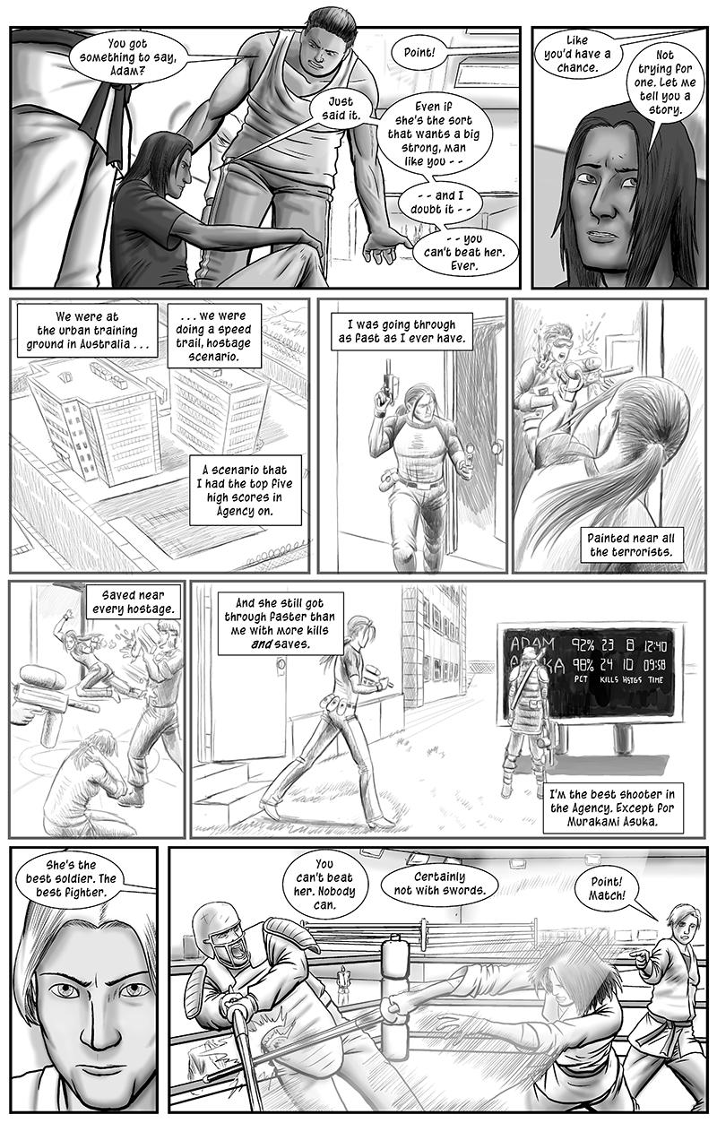 Personal Spaces, page 6