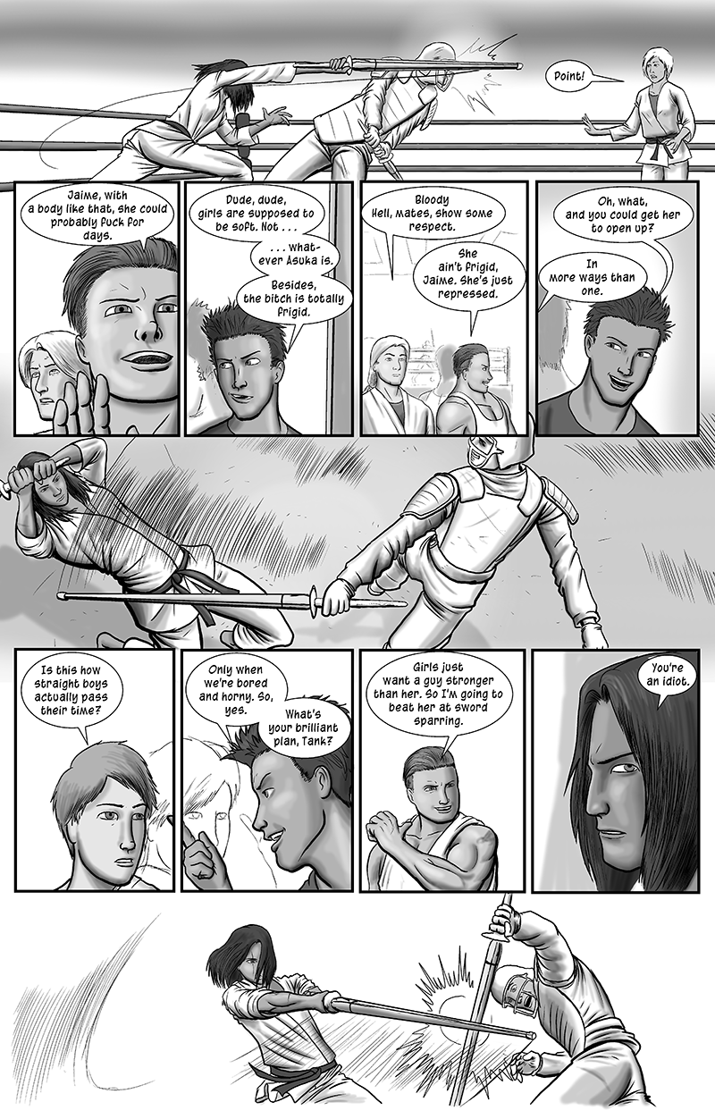 Personal Spaces, page 5